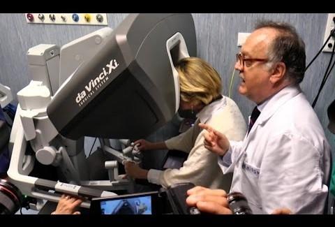Chirurgia robotica, Urologia della Federico II all'avanguardia